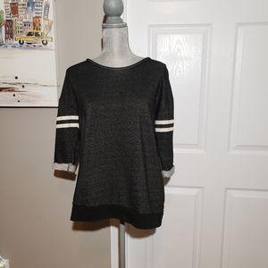 MAISON SCOTCH short sleeved sweat shirt